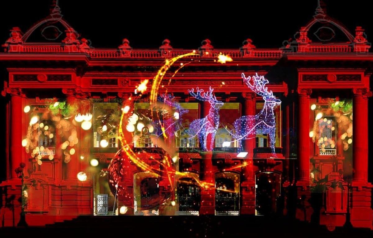 Bữa tiệc âm nhạc mừng Giáng sinh tại Nhà hát Lớn Hà Nội