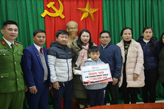 Em Phan Nhật Hiếu được bạn đọc ủng hộ hơn 700 triệu đồng