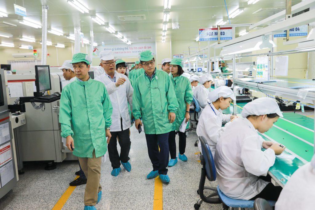 Samsung Việt Nam: Nỗ lực giúp doanh nghiệp trong chuỗi cung ứng tăng năng lực sản xuất