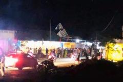 Xe máy tông 5 người đi bộ khiến 1 người tử vong