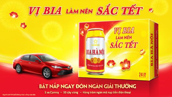 Bia Hà Nội dành 20 tỷ đồng khuyến mãi dịp Tết