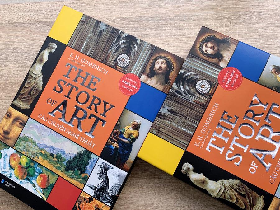Tái bản sách 'Câu chuyện nghệ thuật' sau 2 tháng đến Việt Nam