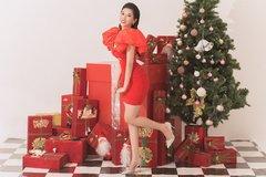 Người đẹp Dương Yến Nhung ngọt ngào với bộ ảnh Giáng sinh