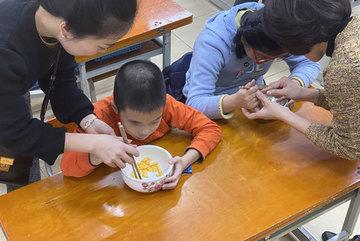 Children with eye impairments get life skills training