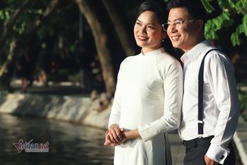 Vợ MC Lê Anh: 'Tôi là sếp, chồng là chuyên gia cố vấn'