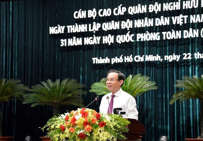 Bí thư Thành ủy Nguyễn Văn Nên: Xử lý cán bộ sai phạm không tránh né