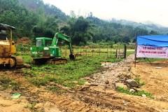 Quảng Nam xây khu tái định cư cho các hộ dân trong sạt lở ở Trà Leng