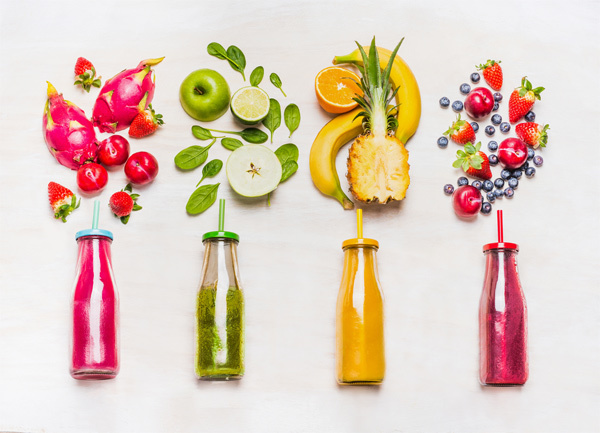 Giảm cân bằng cách uống sinh tố buổi tối