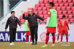 HLV Park Hang Seo nổi cáu với cầu thủ U22 Việt Nam