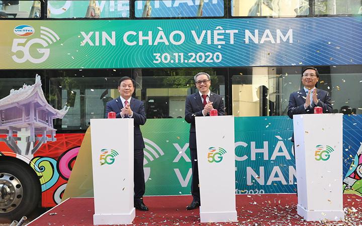 Bước khởi đầu cho quá trình đầu tư phổ cập dịch vụ 5G tại Việt Nam