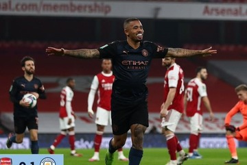 Video bàn thắng Arsenal 1-4 Man City