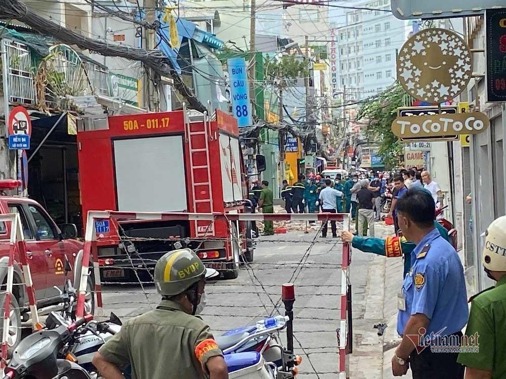 Đã xác định nguyên nhân vụ nổ rung chuyển khu phố Sài Gòn