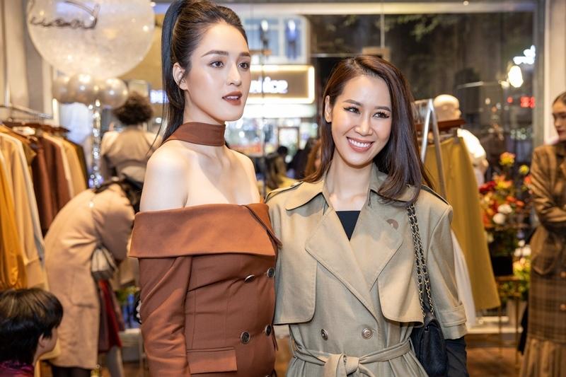 Diễm Quỳnh, Phí Linh hội ngộ tại sự kiện thời trang