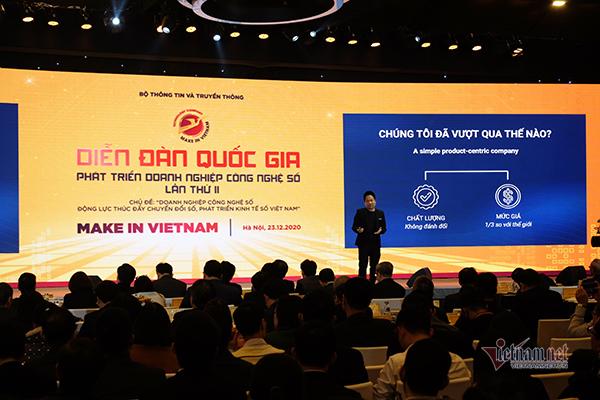 Muốn Make in Vietnam, cần tạo ra sản phẩm thật, giá trị thật
