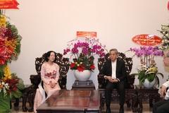 Trưởng ban Dân vận Trung ương Trương Thị Mai thăm Tòa Tổng Giám mục TP.HCM