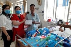 Chị Trần Thị Phượng được ủng hộ hơn 120 triệu đồng