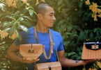 Young Thanh Hoa man designs and sells rattan, bamboo handbags overseas