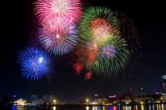 Thủ tướng chấp thuận 4 điểm bắn pháo hoa mừng Tết Dương lịch tại  TP.HCM