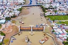 Xác minh dự án ngăn triều 10.000 tỷ ở Sài Gòn bị mất 3.800 lít dầu