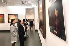 Trưng bày 120 tác phẩm hội hoạ của hoạ sĩ Lê Huy Tiếp
