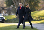 Ông Trump rời Nhà Trắng, đón Giáng sinh tại Florida