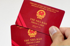 Thẻ nhà báo kỳ hạn 2021-2025 có chíp mã hóa điện tử để chống làm giả
