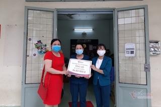 Báo VietNamNet đóng hơn 84 triệu đồng viện phí cho bé Vũ Huy Hoàng