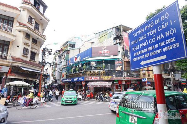 Hà Nội mở rộng thêm 8 tuyến phố vào không gian đi bộ