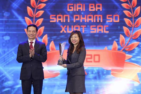 VNPT nhận 'cú đúp' giải thưởng Make in Vietnam 2020
