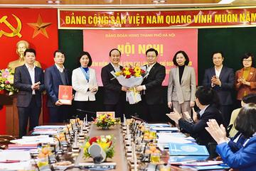 Ông Nguyễn Ngọc Tuấn giữ chức Bí thư Đảng đoàn HĐND TP Hà Nội
