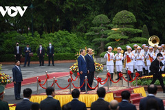 Vietnam visits by foreign leaders in 2020 amid COVID-19