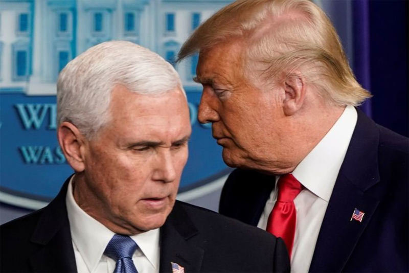 Cuộc gặp bí ẩngiữa ông Trump và phó Tổng thống trước khi nghỉ Giáng sinh