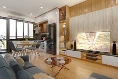 Phú Thịnh Green Park hút gia đình trẻ với căn hộ 2PN +1