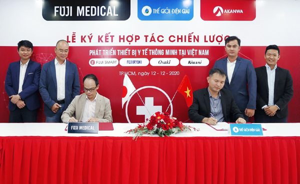 Thế Giới Điện Giải và Fuji Medical hợp tác chiến lược giai đoạn mới