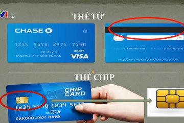 Thẻ từ và thẻ chip khác nhau như thế nào?
