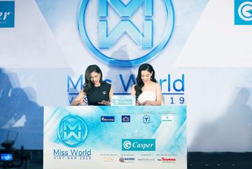 Hoa hậu Lương Thùy Linh - gương mặt đại diện thương hiệu Casper năm 2021