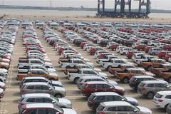 Cuối năm, ô tô nhập khẩu lép vế trước ô tô nội