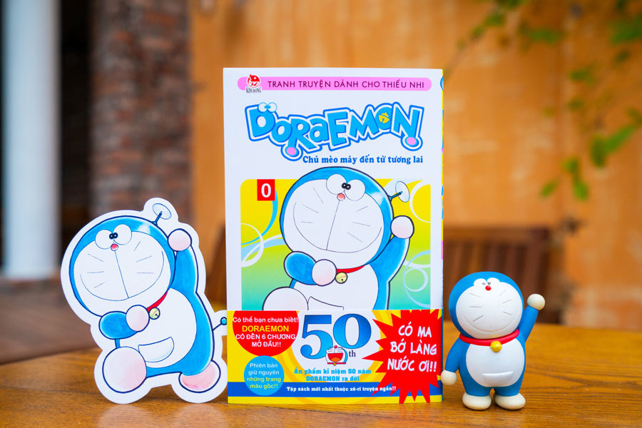 Ấn bản đặc biệt kỷ niệm 50 năm Doraemon ra đời