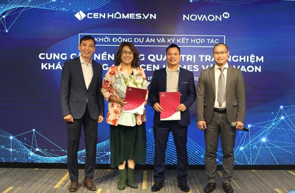 Novaon nâng cao trải nghiệm cho khách hàng trực tuyến Cen Homes