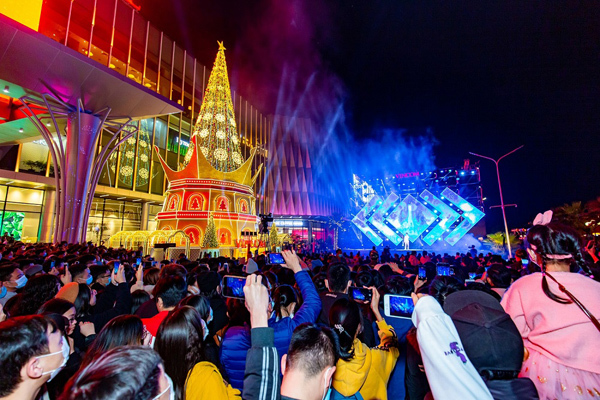 Vincom Ocean Park - điểm hẹn mới trong mùa lễ hội