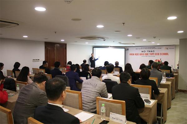 Ra mắt hội đồng khoa học Hệ thống giáo dục THPT CEO School Việt Nam