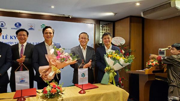 Transerco ký kết hợp tác với 4 đối tác lớn
