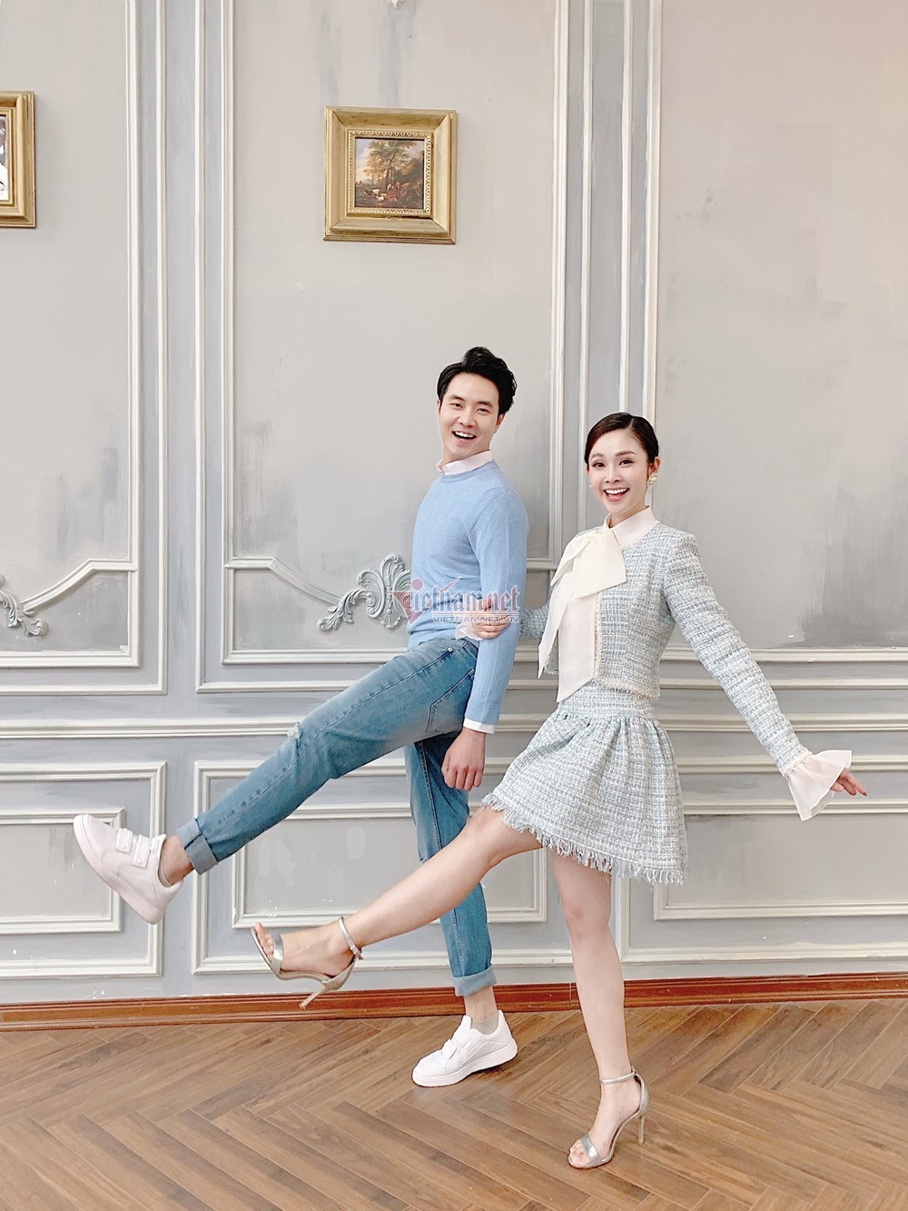 Hậu trường ảnh cưới của MC Thùy Linh và diễn viên Hiếu Su