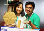 Sinh viên Bách khoa sản xuất gạch từ rác thải nhựa