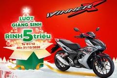 Sắm Winner X nhận ngay 5 triệu đồng tiền mặt dịp Giáng sinh