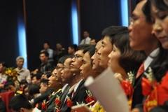 Chính thức công nhận 39 giáo sư và 300 phó giáo sư