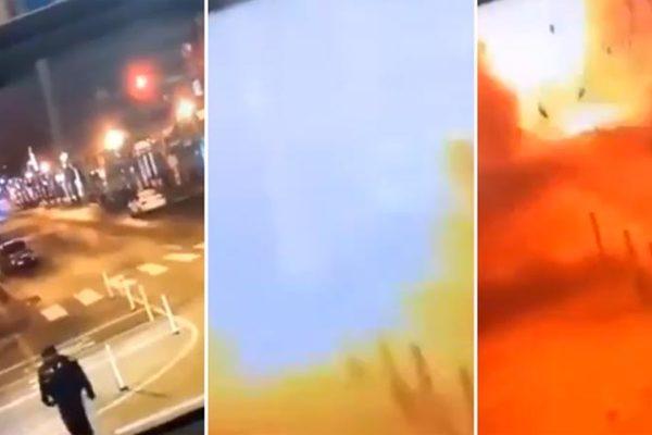 Thêm hình ảnh về vụ nổ kinh hoàng ngày Giáng sinh ở Mỹ