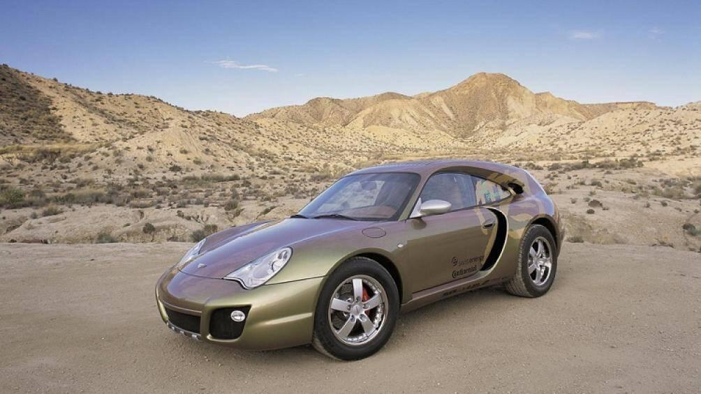 Khám phá siêu xe Porsche 911 siêu dị có khả năng biến thành bán tải