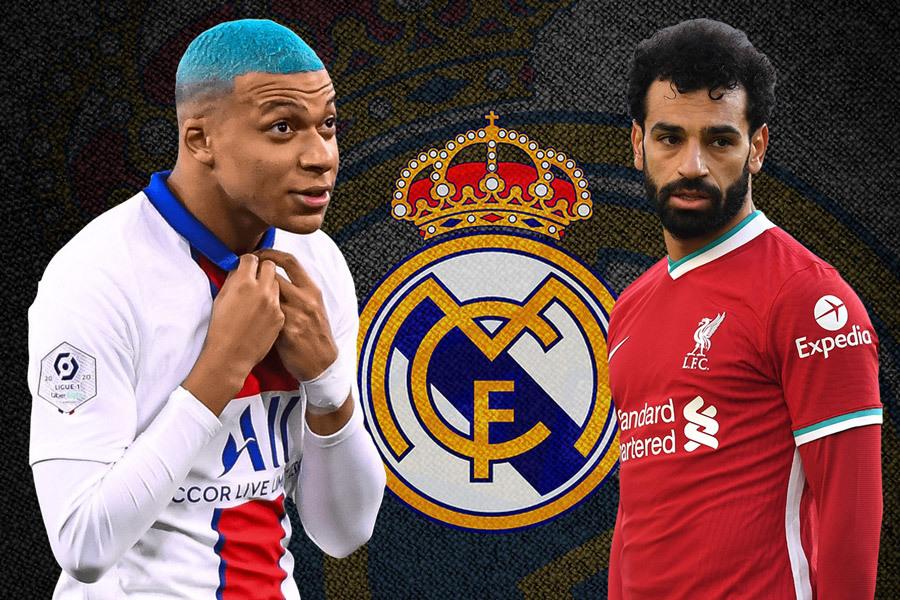 Real Madrid xây 'Galacticos' với Mbappe và Salah