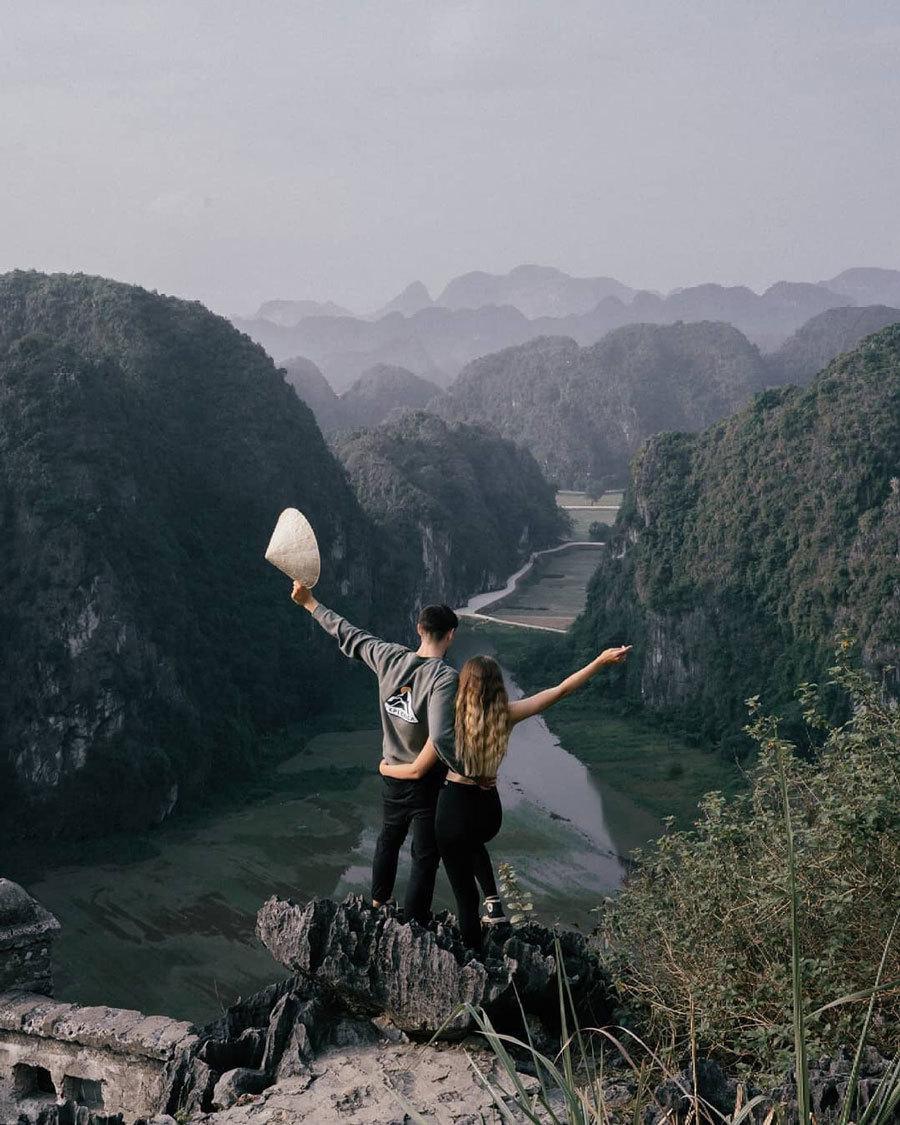 Hang Múa, địa điểm lý tưởng check in Tết Dương lịch 2021